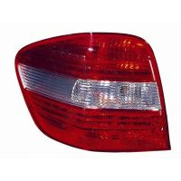 Tail light rear left Mercedes ML W164 2005 to 2008 fume/Red Lucana Headlights and Lights