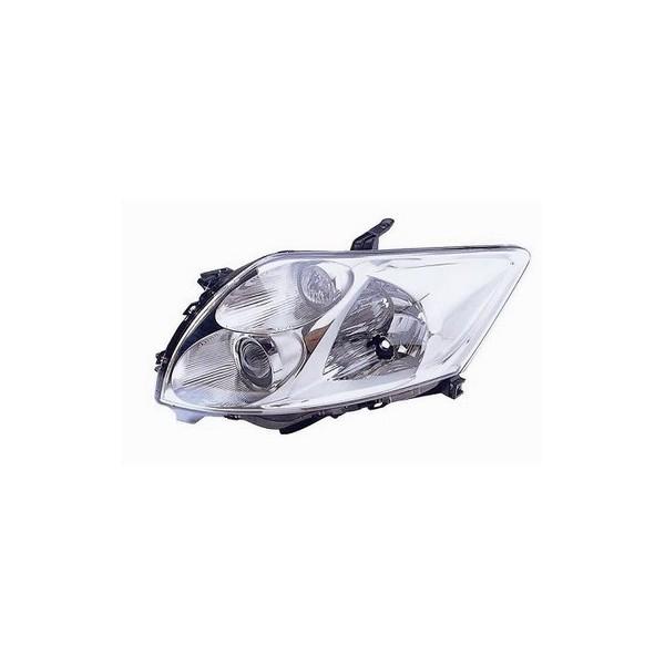 Headlight left front Toyota Auris 2006 onwards vers.Valeo Lucana Headlights and Lights