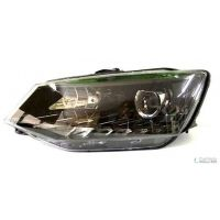 Headlight Headlamp Left front Skoda Fabia 2014 onwards drl hella Headlights and Lights