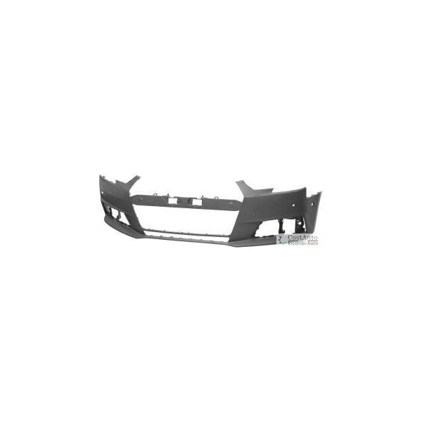 Front bumper Audi A4 2015 onwards with 4 holes sensors park Lucana Bumper and accessories