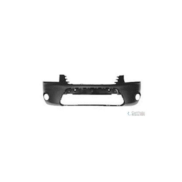 Front bumper Ford Tourneo connect 2009 onwards black with fog lights Lucana Bumper and accessories