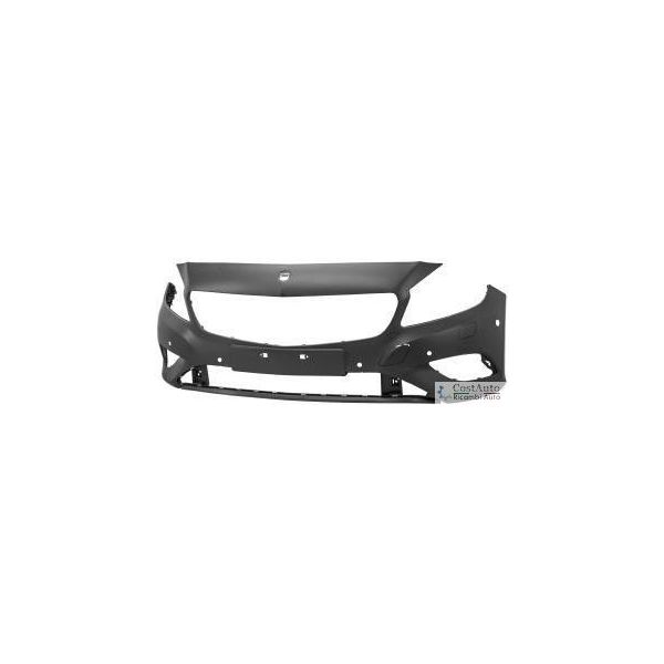 Front bumper for Mercedes Class A W176 2012 onwards with headlight washer holes and 6 holes sensors park Lucana Bumper and ac...