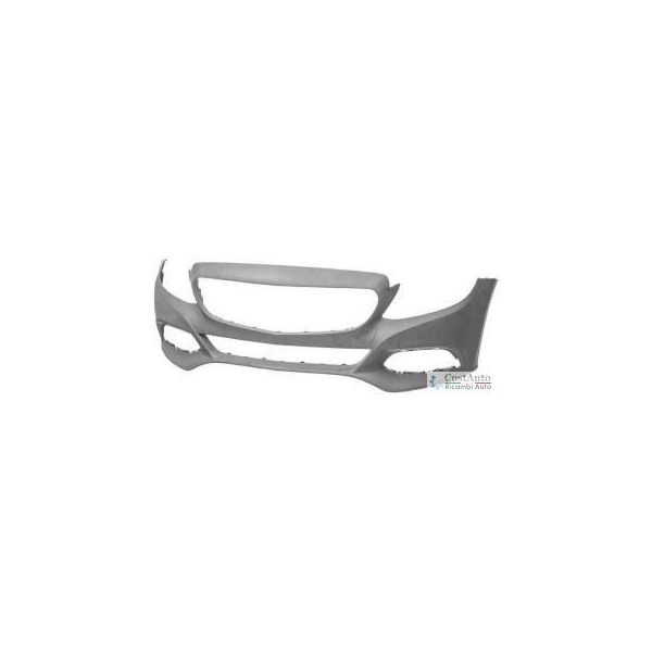Front bumper for Mercedes C Class w205 2013 onwards traces holes sensors park and park assist Lucana Bumper and accessories