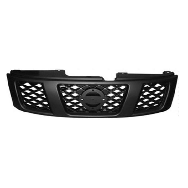 Bezel front grille for Nissan Patrol 2005 onwards black Lucana Bumper and accessories