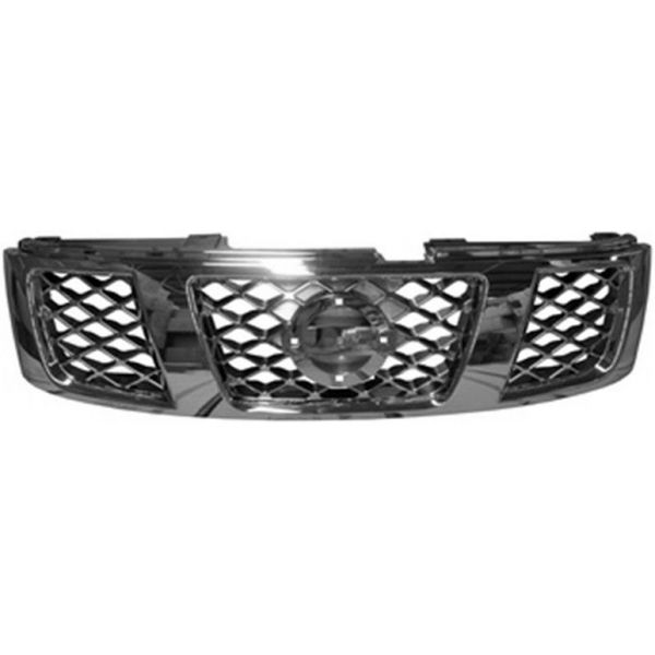 Bezel front grille for Nissan Patrol 2005 onwards in Chrome Lucana Bumper and accessories