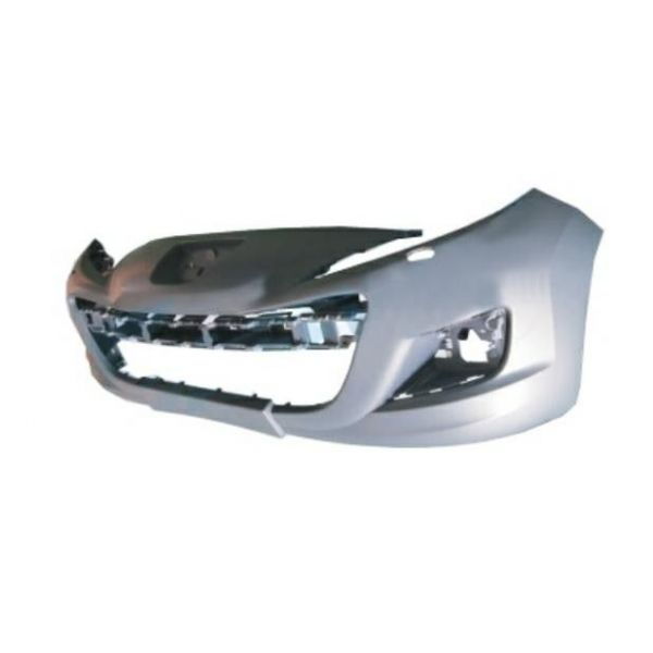 Front bumper Peugeot 207 2009 onwards with headlight washer holes Lucana Bumper and accessories