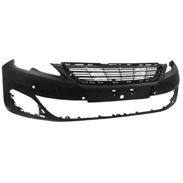 Front bumper for Peugeot 308 2013 to 2017 allure with holes sensors park Lucana Bumper and accessories