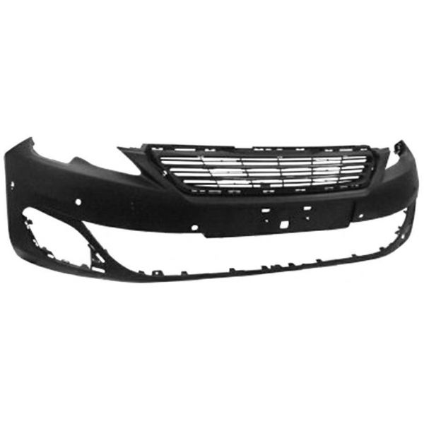 Front bumper for Peugeot 308 2013 to 2017 allure with 6 holes sensors park Lucana Bumper and accessories
