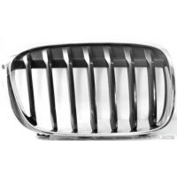 Front grille chrome right-black BMW X1 f48 2015 onwards Lucana Bumper and accessories