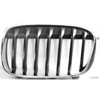 Front grille chrome left-black BMW X1 f48 2015 onwards Lucana Bumper and accessories