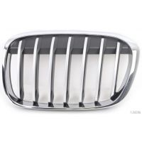 Front grille chrome left-chrome black-BMW X1 f48 2015 onwards basis/x-line Lucana Bumper and accessories
