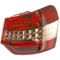Lamp LH rear light Citroen C5 2008 to 2010 outside 4 doors hella Headlights and Lights