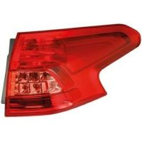 Lamp LH rear light Citroen C5 2008 to 2010 outside sw hella Headlights and Lights