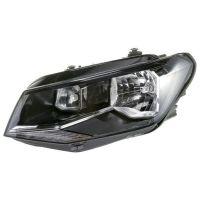 Headlight left front headlight VW Caddy 2015 onwards h4 hella Headlights and lights