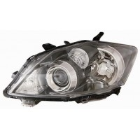 Headlight left front headlight Toyota Auris 2010 onwards black xenon Lucana Headlights and Lights