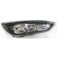 Headlight right front headlight Ford Focus 2014 onwards black led Lucana Headlights and Lights