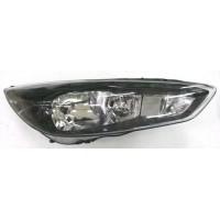 Headlight left front headlight Ford Focus 2014 onwards black led Lucana Headlights and Lights