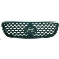 Bezel front grille hyundai terracan 2004 onwards Black Chrome Lucana Bumper and accessories