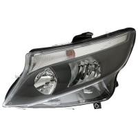 Headlight left front headlight Mercedes Vito 2014 onwards parable black hella Headlights and Lights