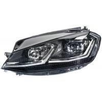 Headlight right front headlight VW Golf 7 2017 onwards full led lighting DBL adaptive front hella Headlights and Lights