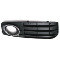 Right grille front bumper AUDI A4 2008 to 2011 with chrome-plated hole Lucana Bumper and accessories