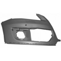 Right-hand sill front bumper AUDI Q5 2008 to 2012 with headlight washer hole and sensors Lucana Bumper and accessories