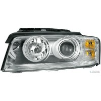 Headlight right front headlight AUDI A6 2002 to 2005 AFS Xenon hella Headlights and Lights