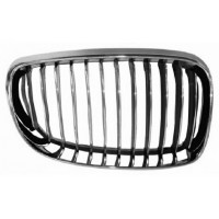 Grille screen right front BMW 1 Series E81 E87 E82 E88 1007 onwards chrome Black Chrome Lucana Bumper and accessories