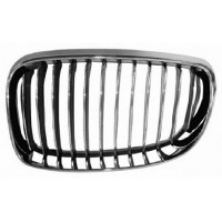 Grille screen left front BMW 1 Series E81 E87 E82 E88 1007 onwards chrome Black Chrome Lucana Bumper and accessories