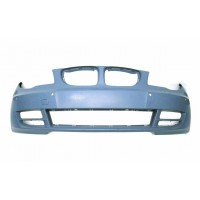 Front bumper bmw 1 series E82 2007 onwards with holes sensors park Lucana Bumper and accessories