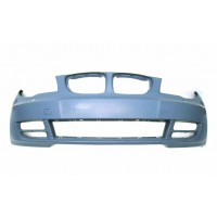 Front bumper bmw 1 series E82 2007 onwards with headlight washer holes Lucana Bumper and accessories