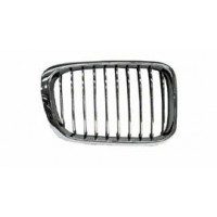Grille screen right front BMW 3 Series E46 1998 to 2001 chrome  Lucana Bumper and accessories