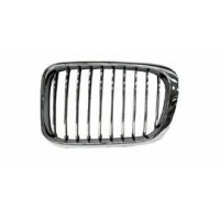 Grille screen left front BMW 3 Series E46 1998 to 2001 chrome Lucana Bumper and accessories