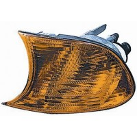 Light arrow right front BMW 3 Series E46 coupe convertible 1998 to 2001 orange Lucana Headlights and Lights