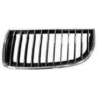Grille screen left front BMW 3 Series E90 E91 2005 to 2008 Chrome black chrome Lucana Bumper and accessories