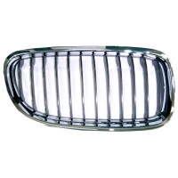 Grille screen right front BMW 3 Series E90 E91 2008 onwards Black Chrome Lucana Bumper and accessories