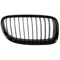 Grille screen right front BMW 3 Series E90 E91 2008 onwards black Lucana Bumper and accessories
