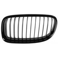 Grille screen left front BMW 3 Series E90 E91 2008 onwards black Lucana Bumper and accessories