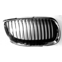 Grille screen right front BMW 3 Series E92 E93 2006 onwards Black Chrome Lucana Bumper and accessories