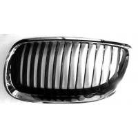 Grille screen left front BMW 3 Series E92 E93 2006 onwards Black Chrome Lucana Bumper and accessories