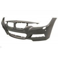 Front bumper bmw 3 series F30 F31 2011 onwards M-tech with sensors Park, park assist and headlight washers Lucana Bumper and ...