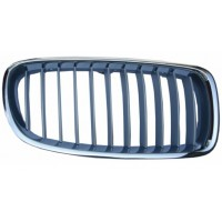 Grille screen right front bmw 3 series F30 F31 2011 onwards modern gray chrome Lucana Bumper and accessories