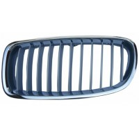 Grille screen left front bmw 3 series F30 F31 2011 onwards modern gray chrome Lucana Bumper and accessories