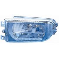 Fog lights left headlight bmw 5 series E39 1995 to 2000 lined glass Lucana Headlights and Lights