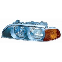 Headlight left front headlight bmw 5 series E39 1995 to 2000 Hb3/h7 Orange Lucana Headlights and Lights
