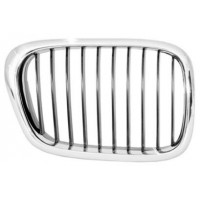 Grille screen front right bmw 5 series E39 2000 to 2003 chrome Lucana Bumper and accessories