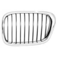 Grille screen front left bmw 5 series E39 2000 to 2003 chrome Lucana Bumper and accessories
