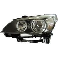 Headlight right front headlight bmw 5 series E60 E61 2003 to 2007 Bi Xenon D2S hella Headlights and Lights