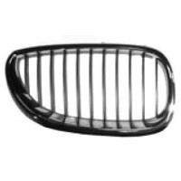 Grille screen right front BMW 5 Series E60 E61 2003 to 2007 chrome and black Lucana Bumper and accessories