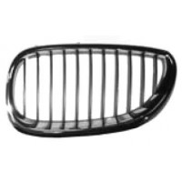 Grille screen left front BMW 5 Series E60 E61 2003 to 2007 chrome and black Lucana Bumper and accessories